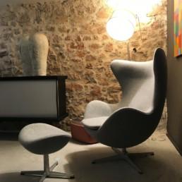 Fauteuil Egg - Fritz Hansen - Design Arn Jacobsen