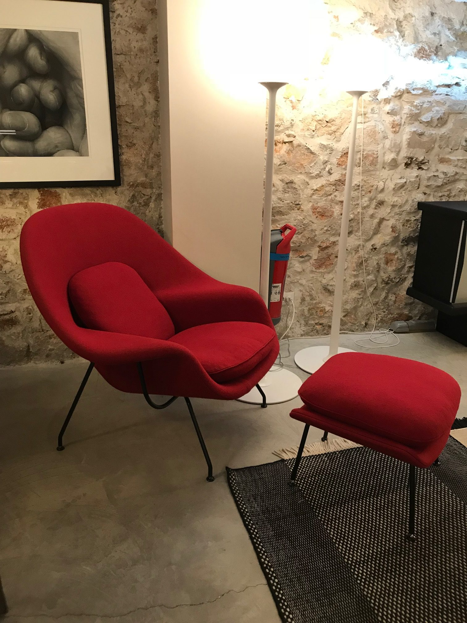 womb pin chair modern saarinen and lounge