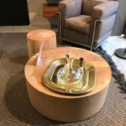 Table basse Legno Vivo - Riva 1920 - Design C.R & S