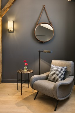 HOTEL SQUARE LOUVOIS fauteuil LADY Cassina Bel Oeil Nice Cannes Monaco