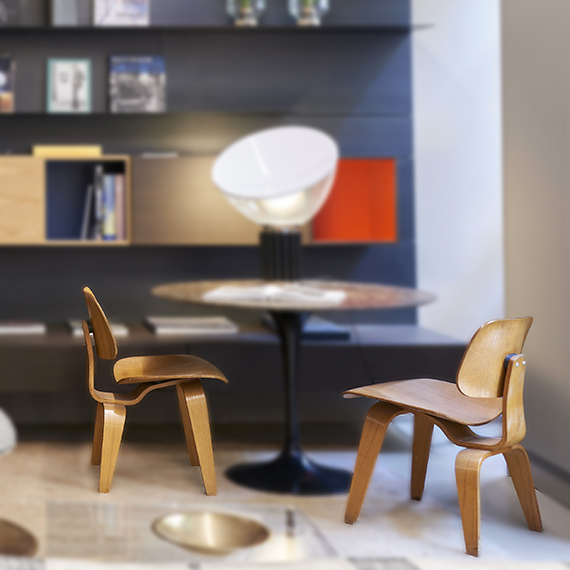 chaise DCW Eames vintage Bel Oeil