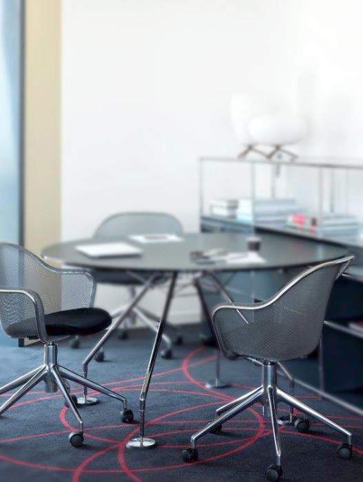 chaises Iuta B&B Italia Bel Oeil