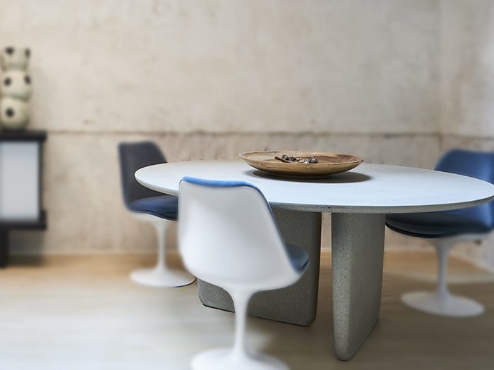 table Tobi Ishi B&B Italia Bel Oeil