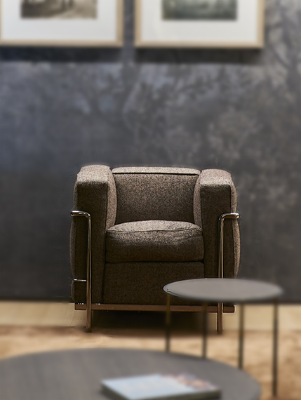 fauteuil LC2 Cassina Bel Oeil Nice Cannes Monaco