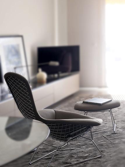 fauteuil Bertoia Knoll Bel Oeil
