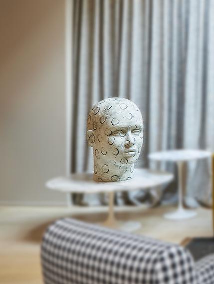 Daphne Corregan White Head Bel Oeil Nice Cannes Monaco