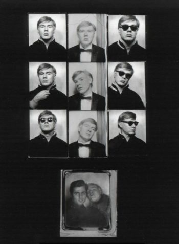 Andy Warhol photobooth assemblage - 1964