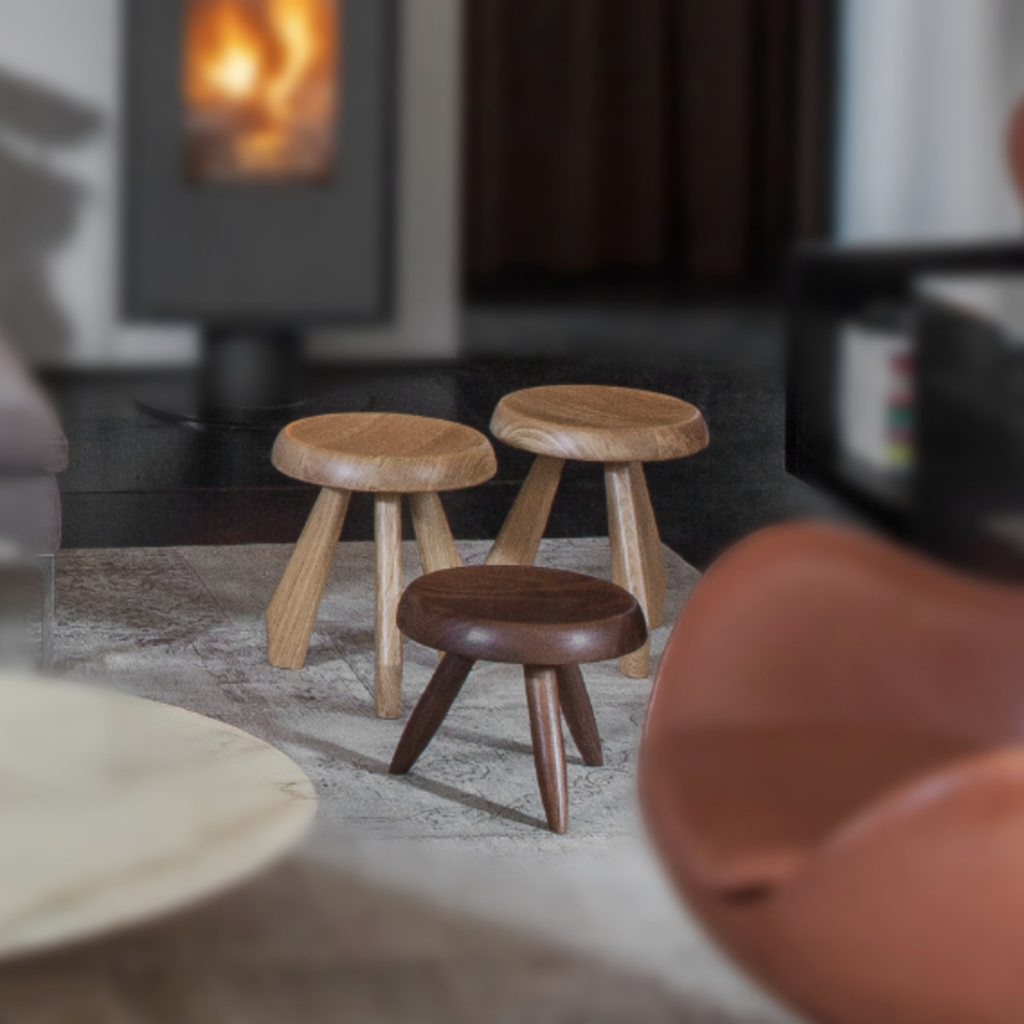berger tabourets charlotte perriand