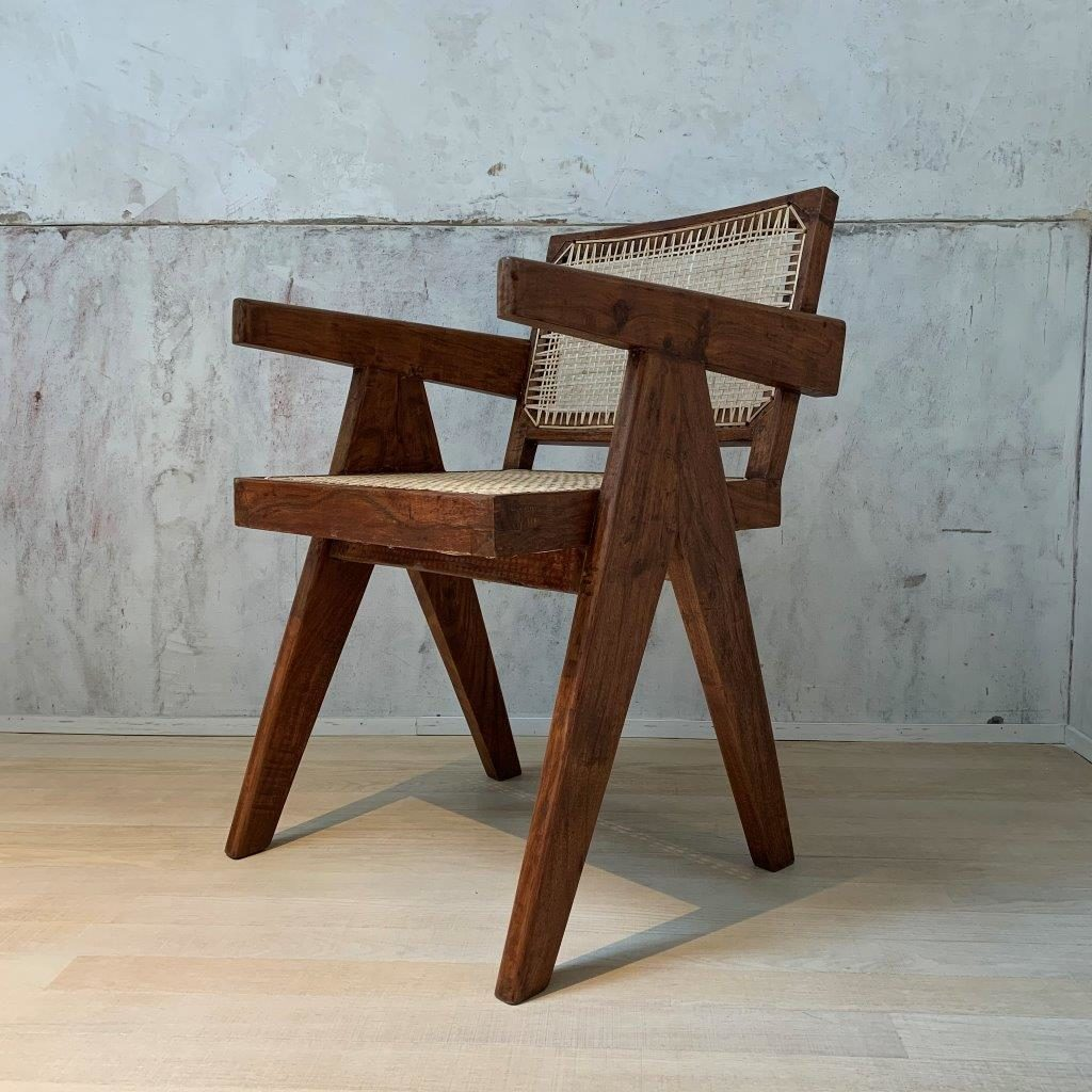 Office Cane CHairs - Pierre Jeanneret
