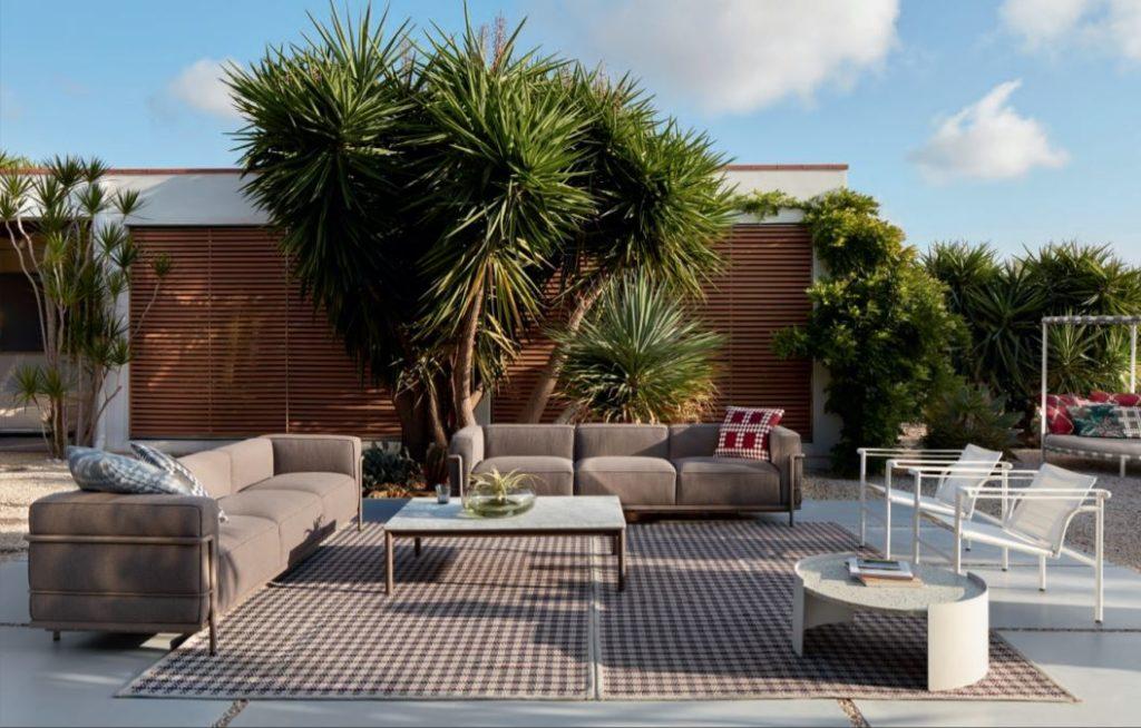 """Photo article dans Blink, Le Corbusier """"Outdoor"""""""