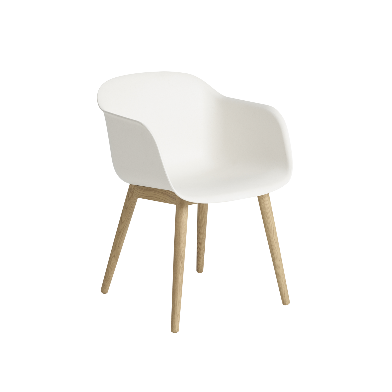 Chaise Fiber – Base bois